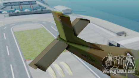 PC-6 USAF Markings for GTA San Andreas back left view