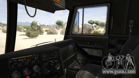 GTA 5 Los Angeles Fire Truck rear right side view