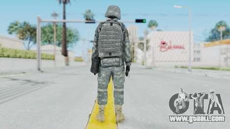 Acu Soldier 2 for GTA San Andreas third screenshot