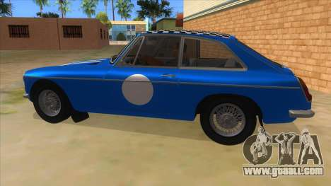 Richard Hammond MGB GT Top Gear for GTA San Andreas left view