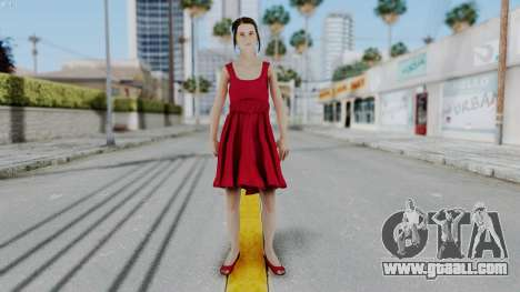 Hermione Dress for GTA San Andreas second screenshot