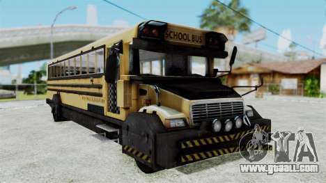 Armored School Bus for GTA San Andreas