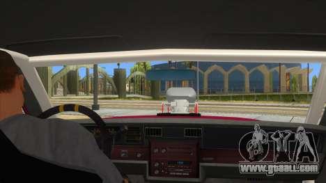 1984 Chevrolet Impala Drag for GTA San Andreas inner view