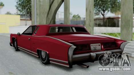 Remington Las Vivas for GTA San Andreas right view