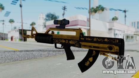 GTA 5 Online Lowriders DLC Bullpup Rifle for GTA San Andreas second screenshot