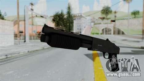 GTA 5 Sawnoff Shotgun for GTA San Andreas second screenshot
