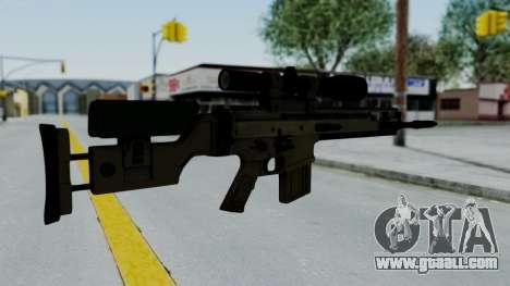 SCAR-20 v2 No Supressor for GTA San Andreas second screenshot
