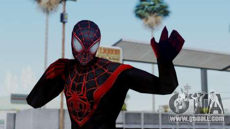 Marvel Future Fight Spider Man Miles v2 for GTA San Andreas