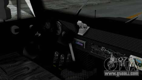 Jeep con Estacas Stylo Colombia for GTA San Andreas right view