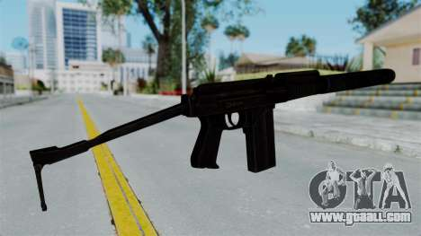 9A-91 Suppressor for GTA San Andreas second screenshot