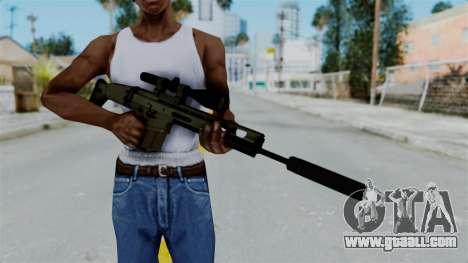 SCAR-20 v1 Supressor for GTA San Andreas third screenshot