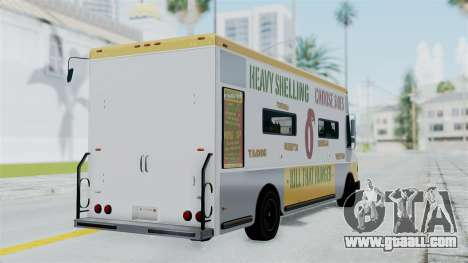 GTA 5 Tacovan for GTA San Andreas left view