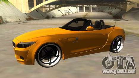 BMW Z4 Liberty Walk Performance for GTA San Andreas left view