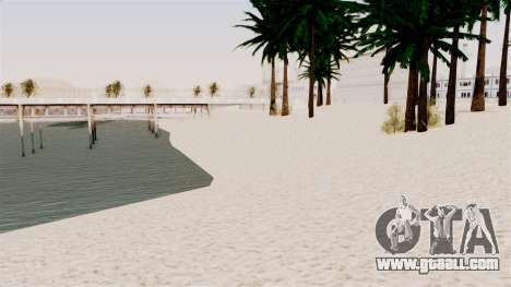 New Beach Textures for GTA San Andreas