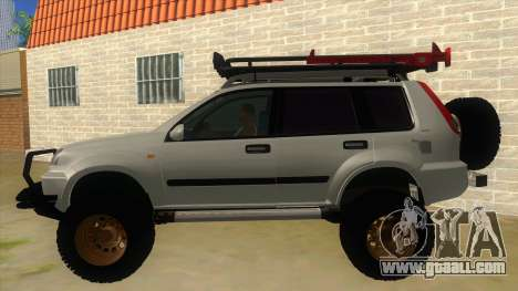 Nissan X-Trail 4x4 Dirty by Greedy for GTA San Andreas left view