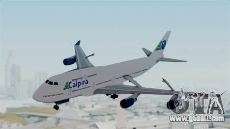 GTA 5 Jumbo Jet v1.0 Caipira Air for GTA San Andreas back left view