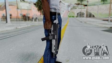 GTA 5 SMG - Misterix 4 Weapons for GTA San Andreas third screenshot