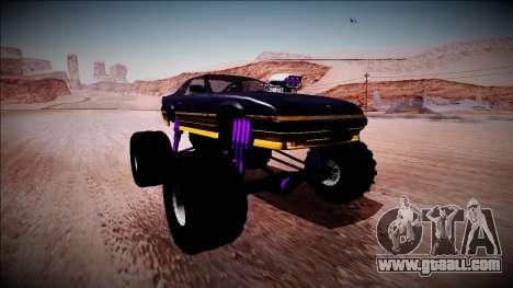 GTA 5 Imponte Ruiner Monster Truck for GTA San Andreas right view
