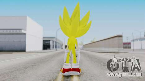 Super Sonic The Hedgehog 2006 for GTA San Andreas third screenshot