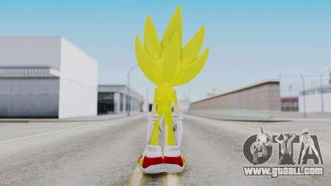 Super Sonic The Hedgehog 2006 for GTA San Andreas third screenshot
