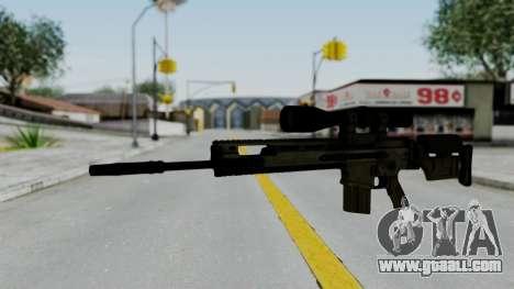 SCAR-20 v2 No Supressor for GTA San Andreas