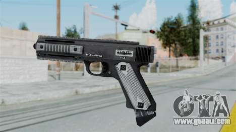 GTA 5 AP Pistol - Misterix 4 Weapons for GTA San Andreas second screenshot