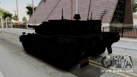Point Blank Black Panther Rusty IVF for GTA San Andreas left view