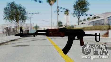 New HD AK-47 for GTA San Andreas