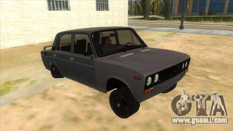 VAZ 2106 Drift Edition for GTA San Andreas back view
