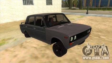 VAZ 2106 Drift Edition for GTA San Andreas back view