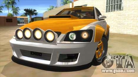GTA V Karin Sultan RS 4 Door for GTA San Andreas