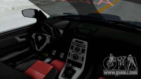 Ikco Dena Tuning for GTA San Andreas back view