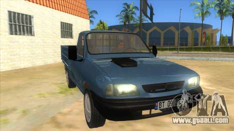 Dacia 1305 Drop-Side for GTA San Andreas back view