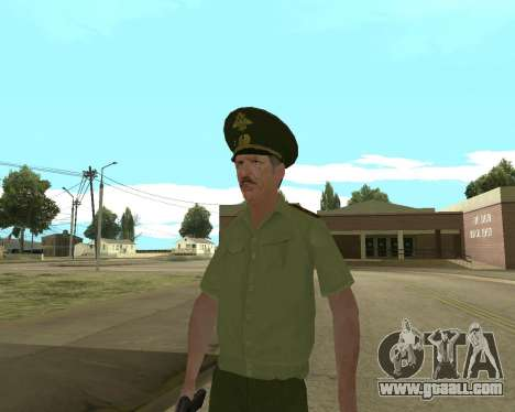 Senior warrant officer danyluk for GTA San Andreas fifth screenshot