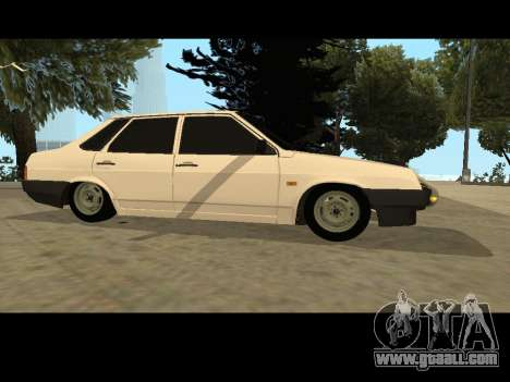 VAZ 21099 Car Without Landing Net for GTA San Andreas left view