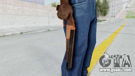 Double Barrel Shotgun Orange Tint (Lowriders CC) for GTA San Andreas