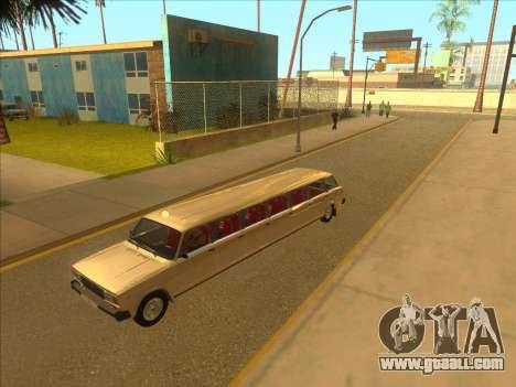 VAZ 2104 13-door for GTA San Andreas inner view
