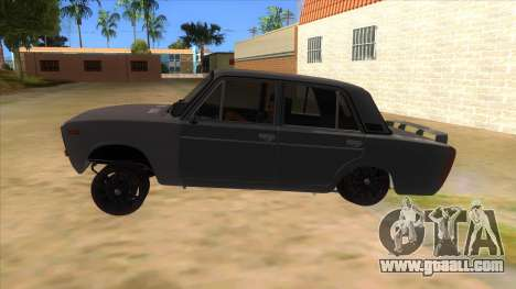 VAZ 2106 Drift Edition for GTA San Andreas left view