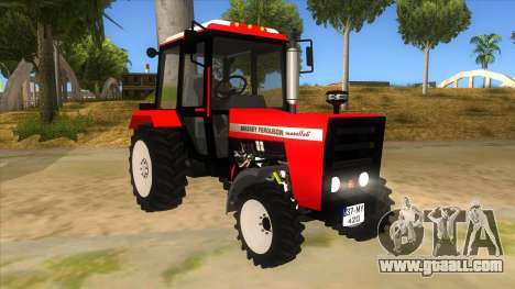 Massley Ferguson Tractor for GTA San Andreas back view
