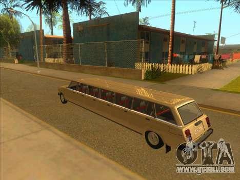 VAZ 2104 13-door for GTA San Andreas back left view