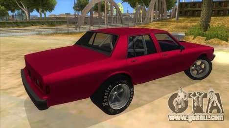 1984 Chevrolet Impala Drag for GTA San Andreas right view