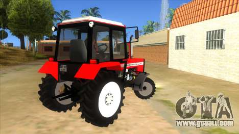 Massley Ferguson Tractor for GTA San Andreas right view