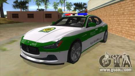 Maserati Iranian Police for GTA San Andreas