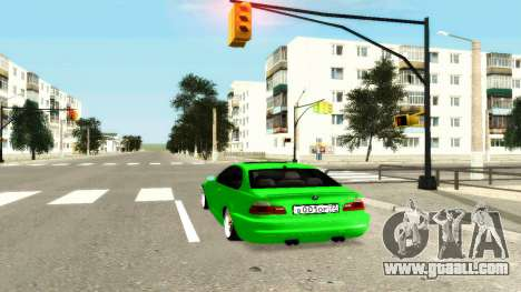 BMW M3 E46 for GTA San Andreas back left view