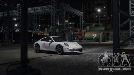 GTA 5 Porsche 911 left side view