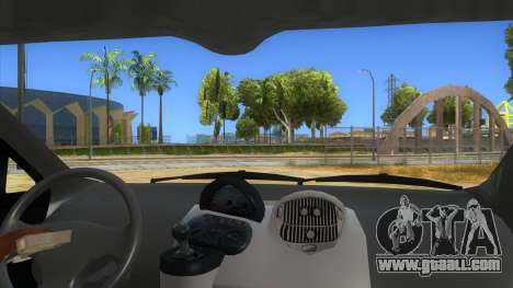 Fiat Multipla FAKETAXI for GTA San Andreas inner view