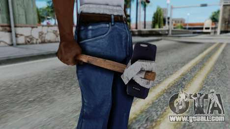 Nokia 3310 Hammer for GTA San Andreas third screenshot