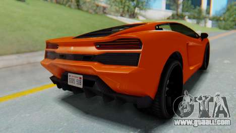 GTA 5 Pegassi Vacca IVF for GTA San Andreas left view