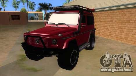 Mercedes-Benz G500 Off Road V3.0 for GTA San Andreas
