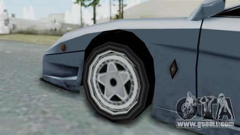 RC Turismo for GTA San Andreas back left view